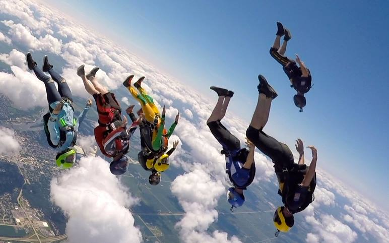 100 jump package licensed jumpers only skydive midwest