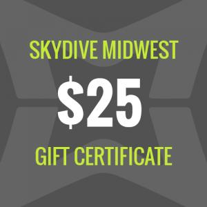SDWM $25 Gift Certificate