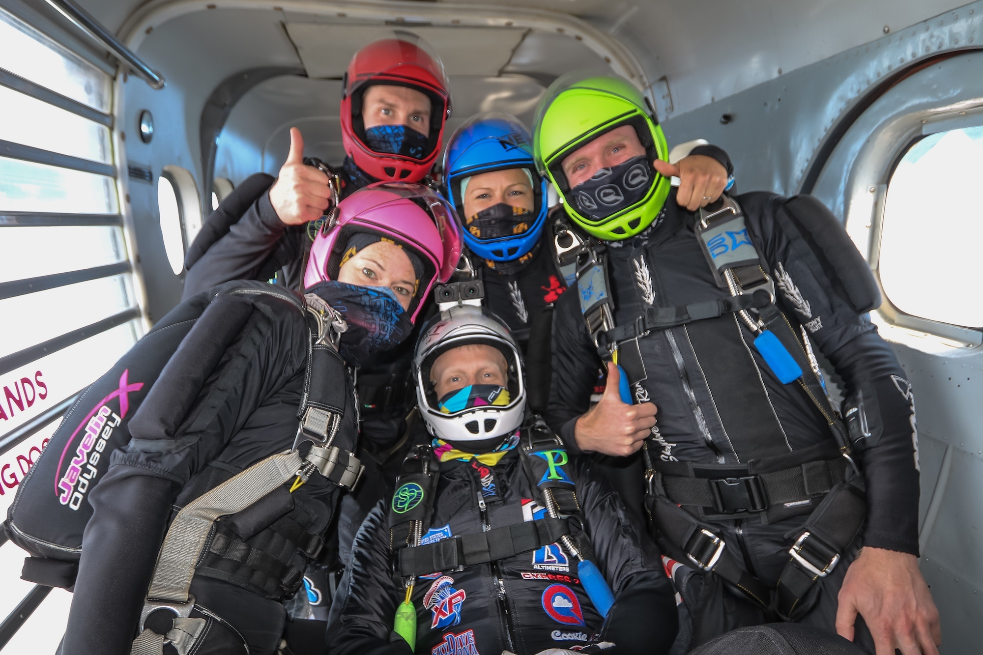 Midwest NEXT Formation Skydiving Team