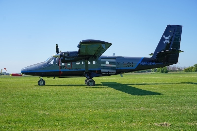 Skydive Midwest Twin Otter