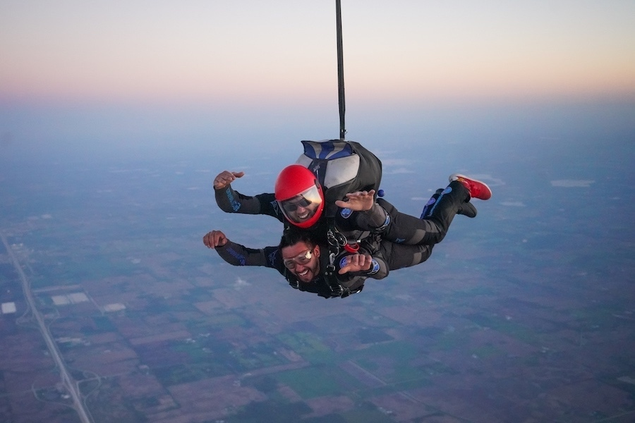 Accelerated Tandem Progression (ATP) Learn to Skydive