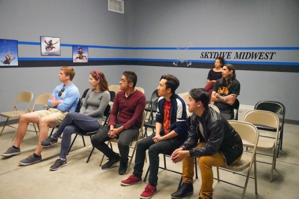 Skydive Midwest Tandem Training Classroom