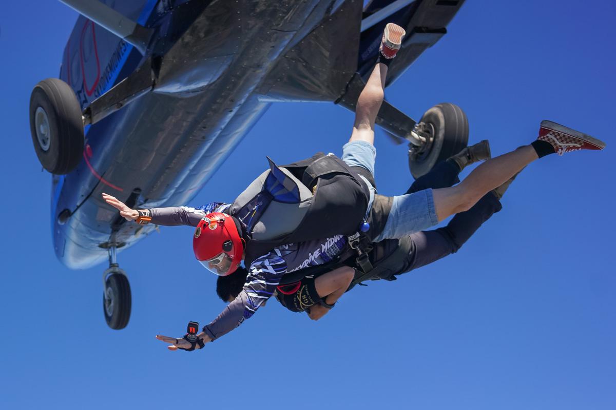 Tandem Skydive Near Chicago IL