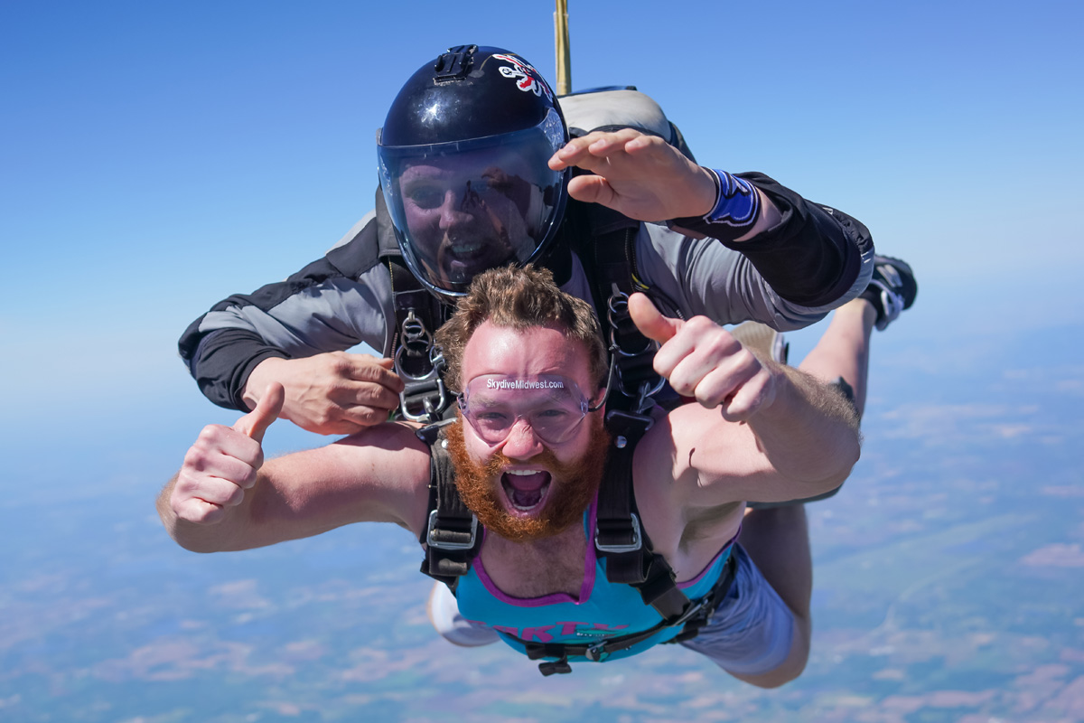 Tandem Skydive Midwest Freefall