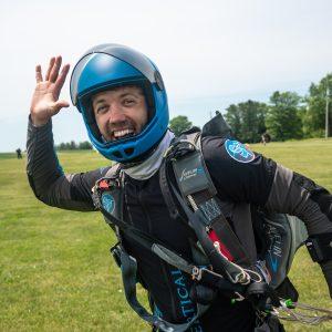 Post Jump High Five
