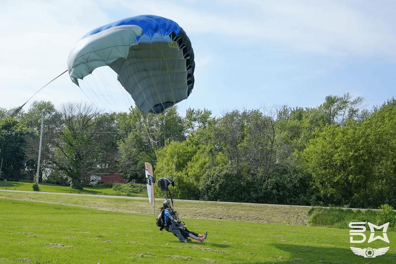 Is Skydiving Safe? Safe Tandem Landing