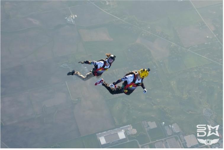 Skydiving Discipline - Moving