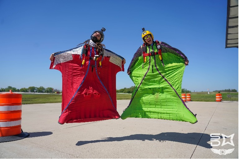 Skydiving Discipline - Wingsuiting